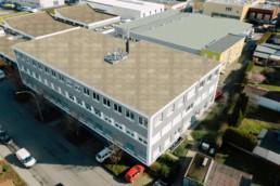 Deizisau Blumenstraße Gebäude Luftaufnahme