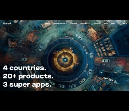 Gojek Webseite Screenshot