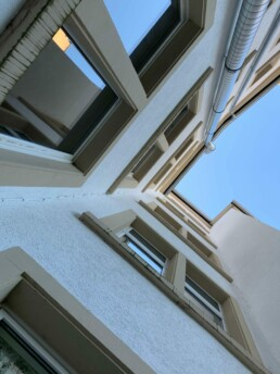 Haus Karlsruhe Kriegsstraße Fassade 2