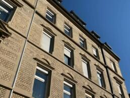 Haus Karlsruhe Kriegsstraße Fassade