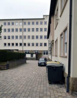 Heilbronn Titotstraße 8 Hinterhof Parkplatz