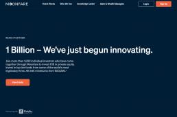 Moonfare.com Screenshot