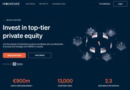 Moonfare Webseite