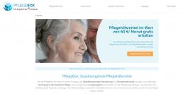 Pflegebox.de Webseite