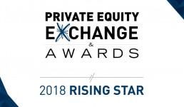 Private Equity Exchange Awards Rising Star 2018