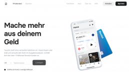 Revolute Webseite deutsch