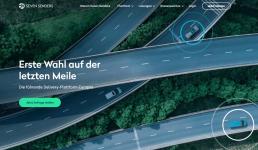 Seven Senders Webseite deutsch