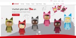 Tonies Webseite